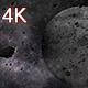 Asteroid Field of the Moon - VideoHive Item for Sale