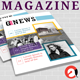 Magazine Newsletter Templates V.1 - GraphicRiver Item for Sale