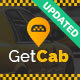GetCab | Online Taxi Service WordPress Theme - ThemeForest Item for Sale