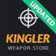 Kingler | Weapon Store & Gun Training WordPress Theme - ThemeForest Item for Sale