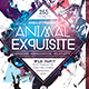 Animal Exquisite Flyer - GraphicRiver Item for Sale