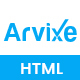 Arvixe-One Page Corporate Html Template - ThemeForest Item for Sale
