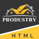 Produstry- Construction Multipage HTML Template - ThemeForest Item for Sale