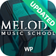 Melody - Arts & Music School WordPress Theme - ThemeForest Item for Sale