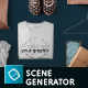 T-shirt Mockups and Packages - Hero Images Scene Generator - GraphicRiver Item for Sale