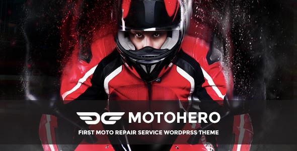 MotoHero   Motorcycle Repair & Custom service Business Wordpress Theme