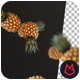 Pineapple Falling 4K - VideoHive Item for Sale