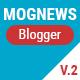 Mogtemplates - Mognews Version 2 Template For Blogger - ThemeForest Item for Sale
