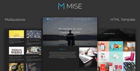 MISE_Multipurpose HTML Template