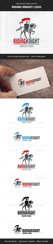 Riding Knight Logo Template
