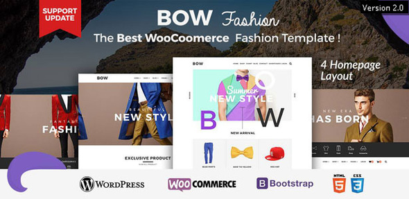 Review: Bow - Responsive Wordpress Woocommerce Theme free download Review: Bow - Responsive Wordpress Woocommerce Theme nulled Review: Bow - Responsive Wordpress Woocommerce Theme