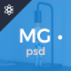 MG – Freelance Portfolio & Resume One Page PSD Template - ThemeForest Item for Sale