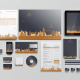 Modern Real Estate Identity Set - GraphicRiver Item for Sale