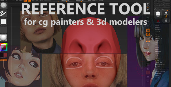 Reference ImageTool for 3D Modelers