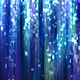 Abstract Dark Blue Particles Glitter Rain Background - VideoHive Item for Sale