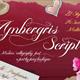 Ambergris - Script Font - GraphicRiver Item for Sale