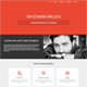 One Page Personal Portfolio Template - ThemeForest Item for Sale