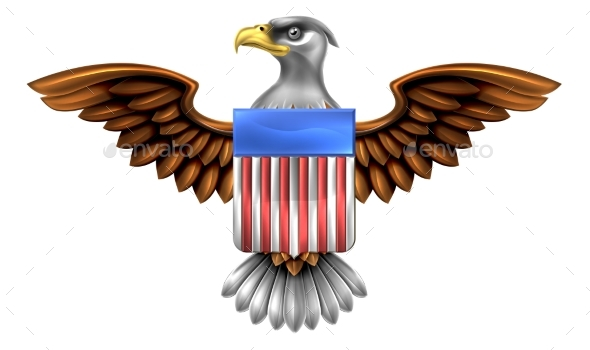 American Eagle Shield