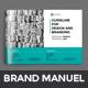 Brand Manual Brochure - GraphicRiver Item for Sale