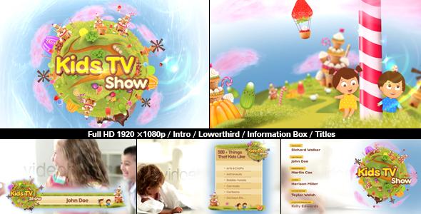 Kids TV Show Pack