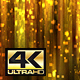 Abstract Gold Square Particles Glitter Rain Background 4K - VideoHive Item for Sale