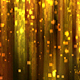Abstract Gold Square Particles Glitter Rain Background - VideoHive Item for Sale