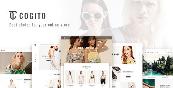 Cogito - PSD Ecommerce Template