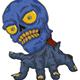 Blue Skull - GraphicRiver Item for Sale