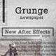 Grunge Newspaper Slideshow - VideoHive Item for Sale