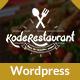 Food Court Restaurant WordPress Theme - ThemeForest Item for Sale