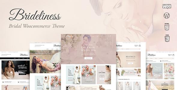 Brideliness - Wedding Shop WordPress WooCommerce Theme
