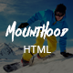 Mounthood | Ski and Snowboarding HTML Template - ThemeForest Item for Sale