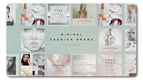 Fashion Brand Minimal Slideshow