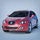 Vray Ready Leon Car - 3DOcean Item for Sale