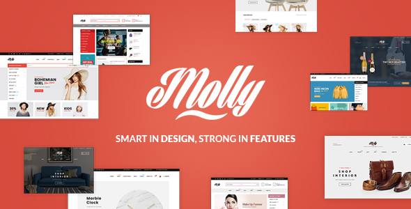 Molly - Fashion Store WooCommerce WordPress Theme
