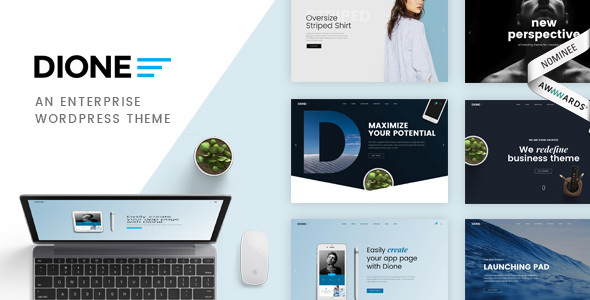 Dione - Business Agency Enterprise WordPress Theme