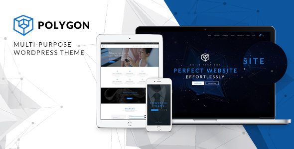 Polygon - Business Corporation  Agency WP Theme