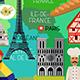 France Travel Set - GraphicRiver Item for Sale