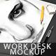Desk Mockup - GraphicRiver Item for Sale