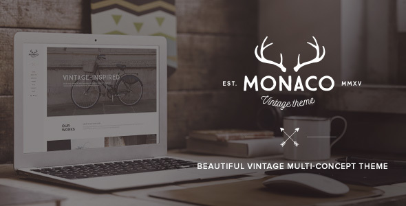 Monaco – Vintage Multi-Concept WordPress Theme Download