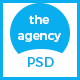 The Agency - PSD Template for Corporate Agency - ThemeForest Item for Sale