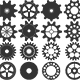 Vector Gear Collection - GraphicRiver Item for Sale