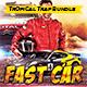 Fast Car Template Bundle - GraphicRiver Item for Sale