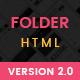 Folder - Personal Portfolio Template - ThemeForest Item for Sale