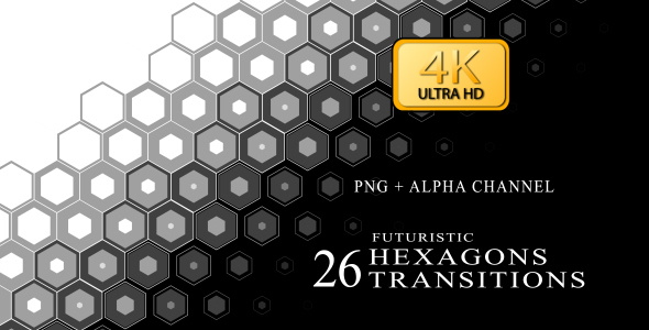 Hexagon Transition Video Effects & Stock Videos from VideoHive
