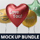 Balloon Mockup Bundle - GraphicRiver Item for Sale