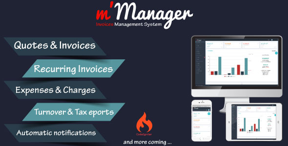m'Manager - Invoices Management System Download