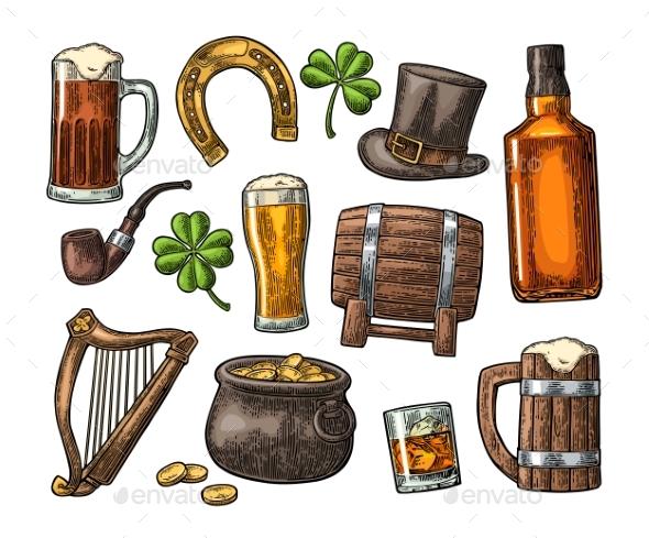 Saint Patrick Day Items