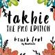 Takhie Pro | Multilingual Brush Font - GraphicRiver Item for Sale