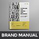 Brand Manual - GraphicRiver Item for Sale